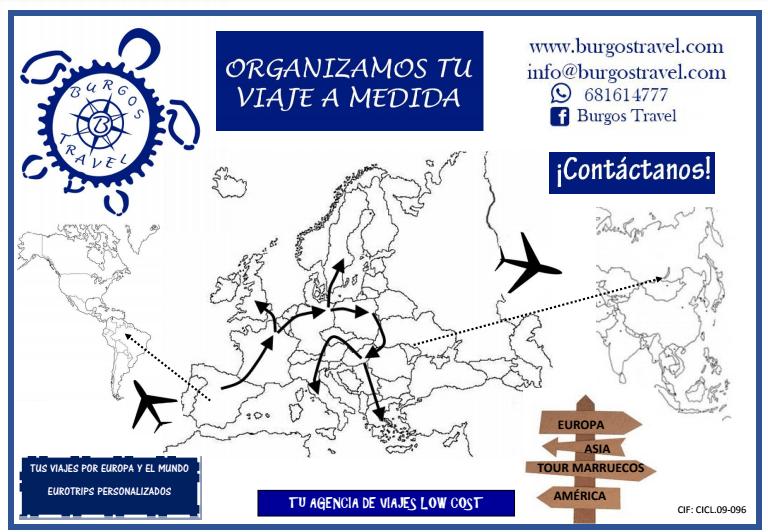 Agencia de viajes baratos Burgos