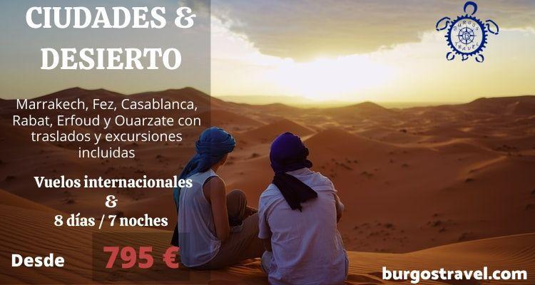Marruecos y desierto