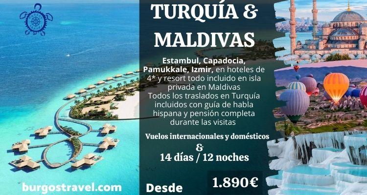 Maldivas y Turquía